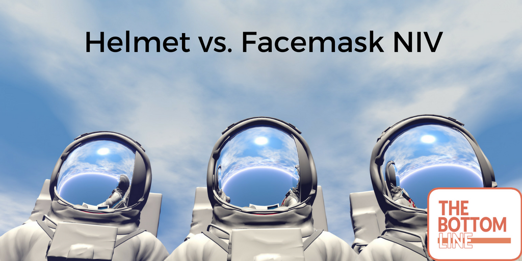 helmet vs facemaske