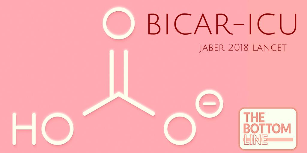BICAR-ICU – The Bottom Line